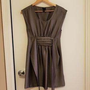 H&M Metallic Dark Silver/Gray Dress